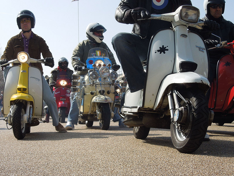 Foto Scooter Rally